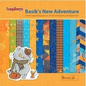 Basik & Ko. New Adventure Paper - Set 6x6 inch - 190gsm