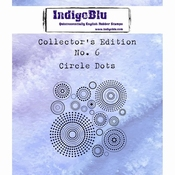 IndigoBlu stempel Collector's Edition 6 Circle Dots