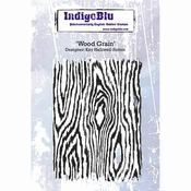 IndigoBlu stempel Wood Grain A6 Rubber Stamp