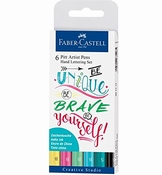 Faber Castell Pitt artist set | Handlettering Be Unique
