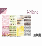 Joy Crafts Papierset Holland