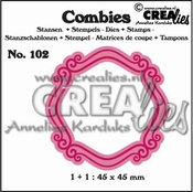 Crealies Combies no. 102 Kader B - 45x45 mm