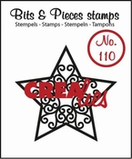 Crealies stempel Bits & Pieces no. 110 Ster A