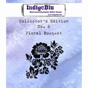 IndigoBlu stempel Collector's Edition 8 Floral Bouquet