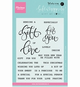 Marianne Design Stempel Giftwrapping: Gift of Love