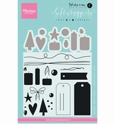 Marianne Design Stempel Giftwrapping: Tags & threads