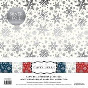 Carta Bella Winter Wonderland 12 x 12  inch Per stuk