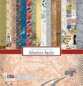 Adventure Awaits - 12x12 Inch - 170 gsm - 24 sheets
