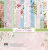 Garden of Delights - 12x12 Inch - 170 gsm - 16 sheets