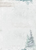 Achtergrondpapier 10 vel A4 Winter Feelings 251