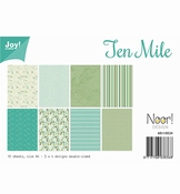 Joy Crafts Papierset Ten Miles per stuk
