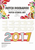 Dutch Doobadoo Stencil Art Numbers 2