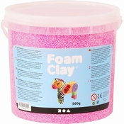 Foam Clay, Neon Rose, emmer 560 gram