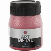 ES Art Metal Verf - Lava Rood 250ml