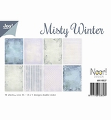 Joy Crafts Papierset Misty Winter per stuk