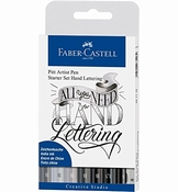 Faber Castell Pitt artist set | Handlettering All You Need