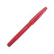 Pentel Brush Sign SES 15C ROOD