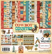 "Carta Bella Cowboy Country Collection Kit 12""x12"" Per stuk"