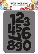 Dutch Doobadoo Foam stempel Numbers