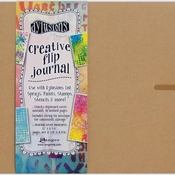 Dylusions creative Flip Journal BIG - Kraft 12