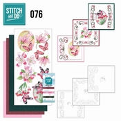 Stitch and Do 76 Pink Flowers