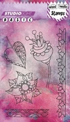 Stamp A6 Basic mixed media nr 266