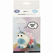 Funny Friends, Unicorn Blauw - 1 set Per stuk