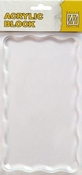 Nellie`s Choice acrylic stamping bloc 160x90x8mm