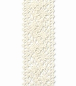 Kant lint Chantilly Crème / Ivoor - 22mm breed
