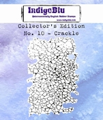 IndigoBlu stempel Collector's Edition 10 Crackle