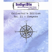 IndigoBlu stempel Collector's Edition 11 Compass
