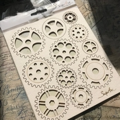SnipArt | Grote Gears in softboard