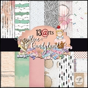 Alice in Candyland Paperpad 6