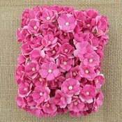 Mulberry Paper Flowers - sweetheart blossom - Pink