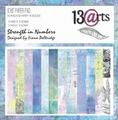 13@rts | Strength in numbers Paper Pad 6