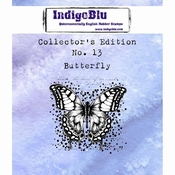 IndigoBlu stempel Collector's Edition 13 Butterfly
