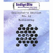 IndigoBlu stempel Collector's Edition 14 Bubblewrap