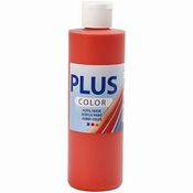 Plus Color Acrylverf Brilliant Red 250 ml