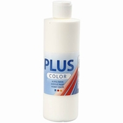 Plus Color Acrylverf Off White  250 ml