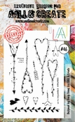 AALL & Create Stamp Set #46 - Embrace imperfection per stuk