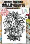 AALL & Create Stamp Set #20 - Flowerfull per stuk
