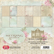 Craft & You | Paperpad 12 x 12 inch - Wedding Garden