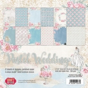 Craft & You | Paperpad 12 x 12 inch - Pastel Wedding