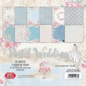 Craft & You | Paperpad 6 x 6 inch - Pastel Wedding