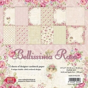 Craft & You | Paperpad 12 x 12 inch - Belissima Rosa
