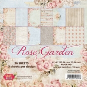 Craft & You | Paperpad 12 x 12 inch - Rose Garden