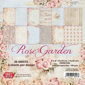 Craft & You | Paperpad 6 x 6 inch - Rose Garden