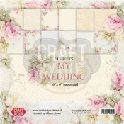Craft & You | Paperstack 6 x 6 inch - My Wedding