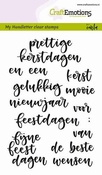 CraftEmotions clearstamps A6 | Woorden Kerst (NL)