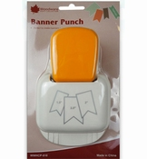 Banner Punch Woodware Craft Collection per stuk